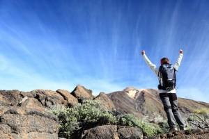 bigstock-Hiker-cheering-Happy-hiking-w-29953247-300x200