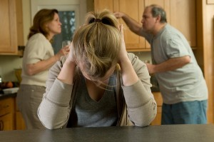 Daughter Suffers While Parents- argue
